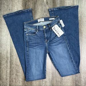 FRAME Le High Flare Jeans Size 25
